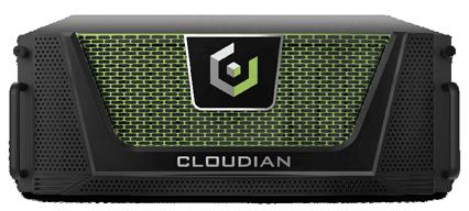 zdjęcie czarno zielonego urządzenia Cloudian