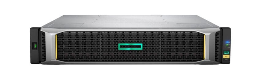 szary moduł serwerowy z zielonym akcentem