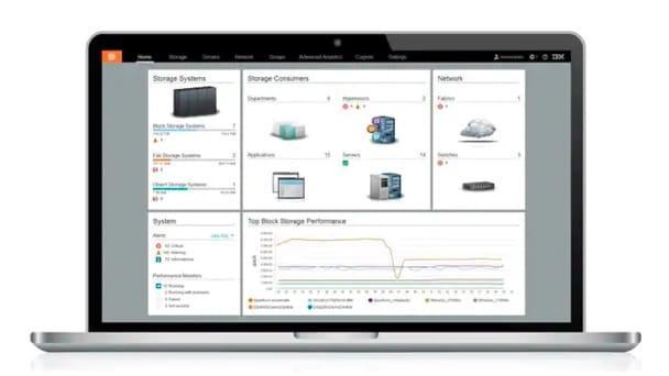 Pamięć masowa IBM - Pamięć masowa zdefiniowana programowo SDS