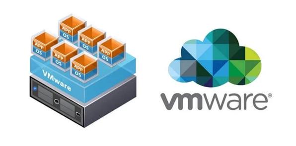 schemat budowy VMware
